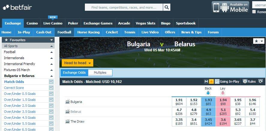 Bulgaria-Belarus-Betfair-exchange